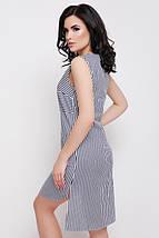 Летнее платье в полоску с удлиненной спинкой (Lily fup), фото 2