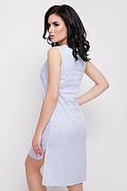 Летнее платье в полоску с удлиненной спинкой (Lily fup), фото 3