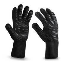 Термостойкие силиконовые перчатки BBQ Gloves, фото 2
