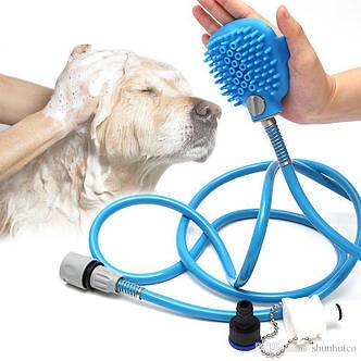 Щетка-душ для собак Pet Bathing Tool RZ-110, фото 2