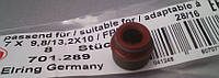 Сальник клапана Renault Logan (Elring 701.289)(высокое качество)