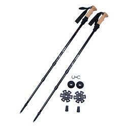 Треккинговые палки в чехле Fox Outdoor черного цвета