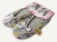 Балетки - тапки женские домашние RiSocks