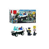 Конструктор полицейской машины BRICK (457796/124)