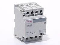 Контактор электромагнитный модульный SNCH8-63/63  4P 63A
