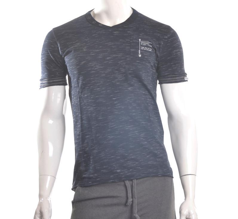Чоловіча футболка темно-синя