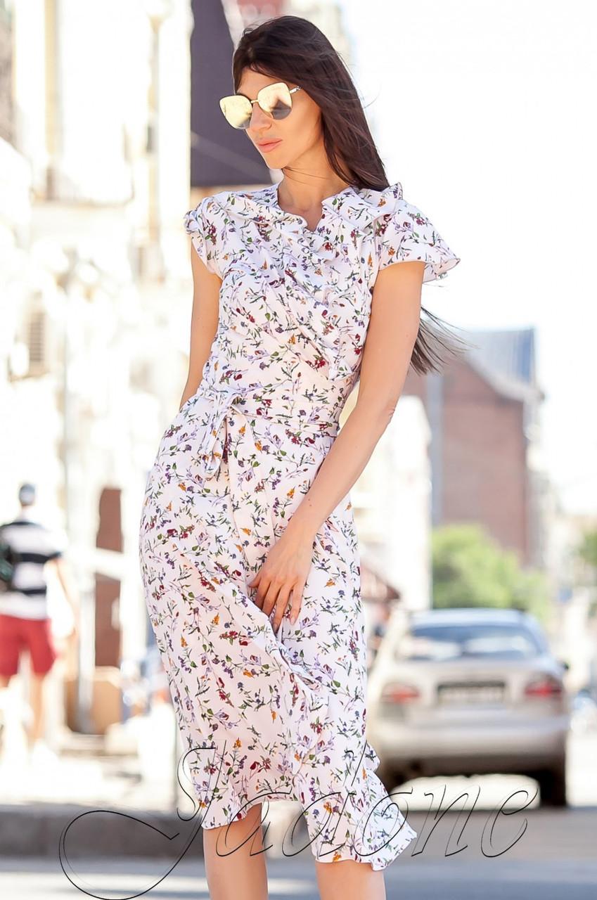 7b9e2ef285de0c6 Летнее светло-персиковое платье Силин Jadone 42-48 размеры - Интернет-магазин  одежды