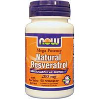 Ресвератрол / Resveratrol (200 мг) 60кап.