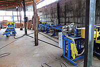 Линия производства строительного бруса (СПО-Астра-Ф2 + СТ-Астра-6 + СФ-Астра-У2) бу 2007 г.