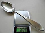Столовая ЛОЖКА Серебро 800 пробы  66.97 грамма, фото 6