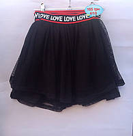Детская юбка для девочек от 4 до 10 лет.