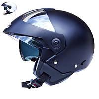 Мотоциклетный шлем HELMETS JST GT BLENDA черный матовый 54-56 см р. S+ балаклава