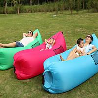 Надувной лежак шезлонг Ламзак Lamzac Hangout