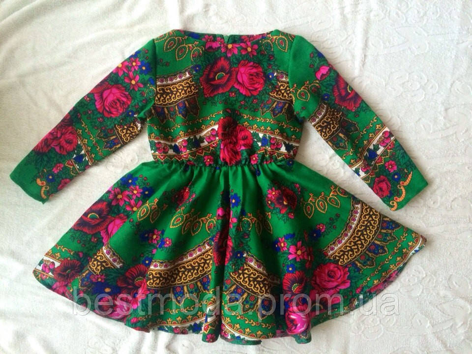 Детское платья из платков