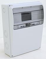 Щиток комбинированный пластиковый АБС, не содержащий галогены IP54, под углом, 230х300х115мм 11М