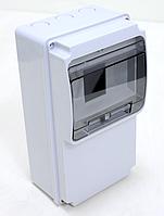 Щиток комбинированный пластиковый АБС, не содержащий галогены IP54, прямая, 130х350х105мм 6М