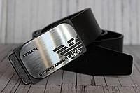 Ремень пояс мужской брендовый Armani 4 см
