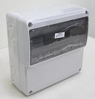 Щиток комбинированный пластиковый АБС, не содержащий галогены IP65, прямая, 330х330х150мм 13М