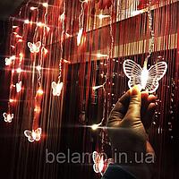 """Гирлянда бахрома из бабочек """"Нежные чувства"""", фото 1"""