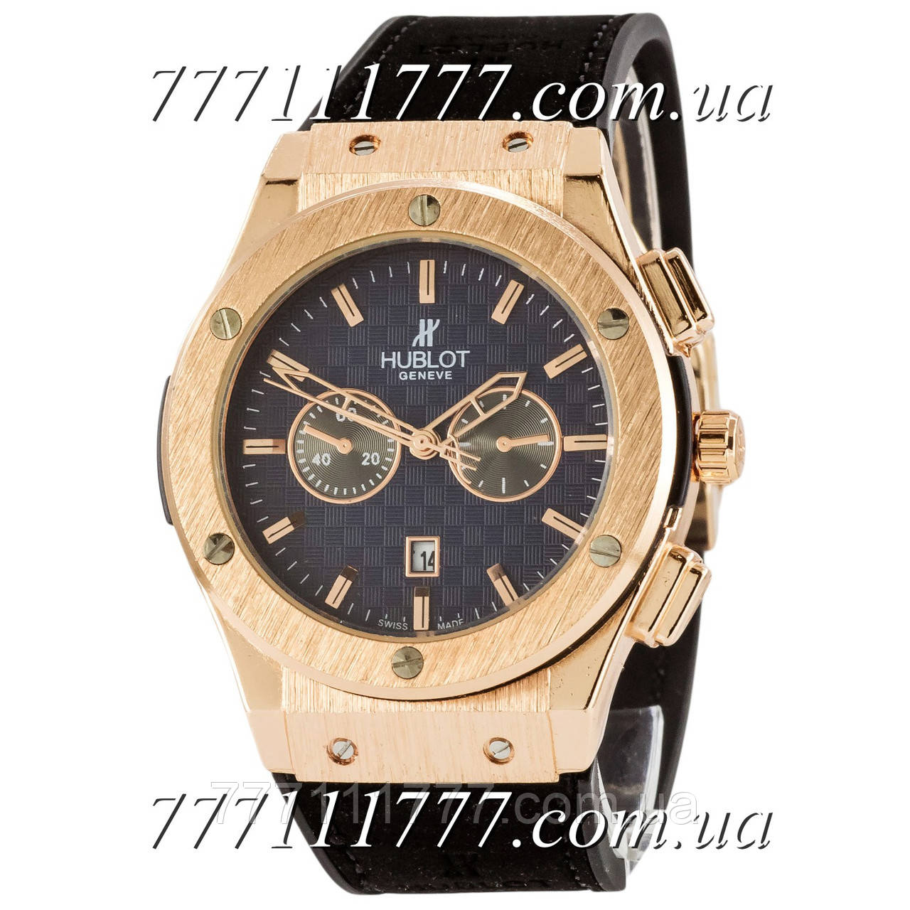 74ebf273ca4a Часы мужские наручные Hublot 882888 Classic Fusion Black-Gold-Black ...