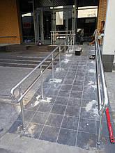 Перила алюминиевые для пандусов, фото 2