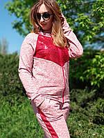 Прогулочный спортивный костюм для мамы и дочки Family Look, Фемили Лук