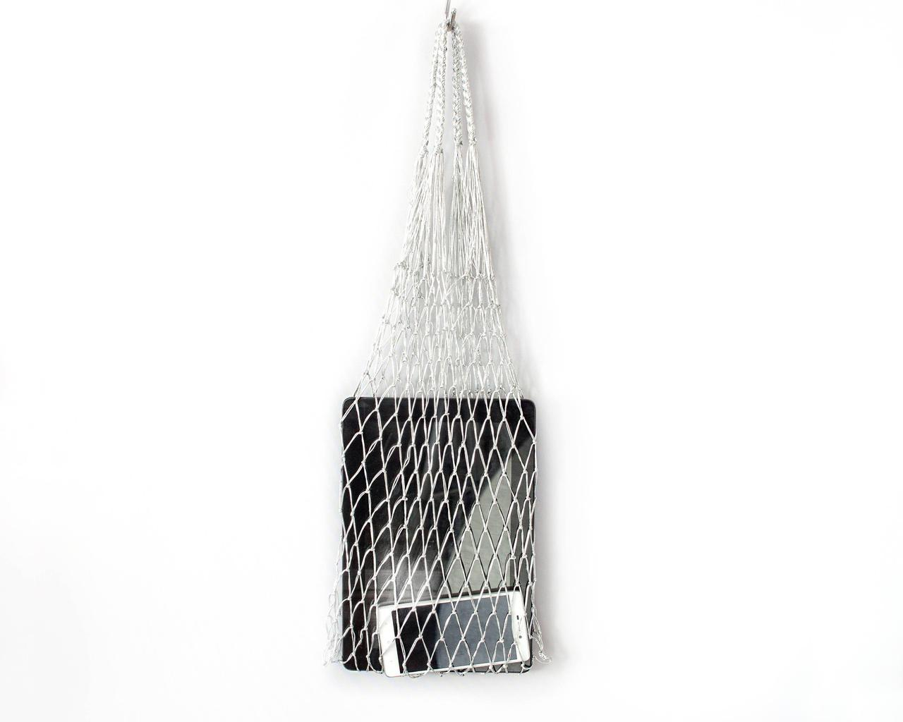 Авоська - Серебр - Подарочная сумка - Сумка для вечеринок