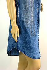 Джинсовое платье рубашка Keyan, фото 3