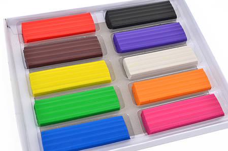 """Пластилин """"Yes"""" 10 цветов 540426 """"Happy colors"""", фото 2"""