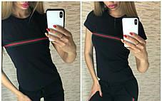 Стильная футболка, размеры S M L XL Турция, фото 2