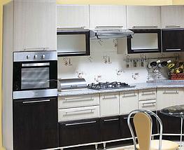 Кухня Марта МДФ фасад Венге-светлый/Венге-тёмный, корпус Венге-светлый., фото 2