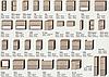 Кухня Марта МДФ фасад Венге-светлый/Венге-тёмный, корпус Венге-светлый., фото 3
