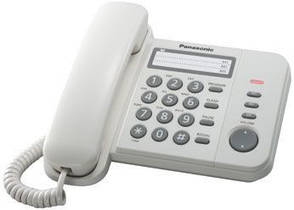Телефон Panasonic KX-TS2352UAW телефон, фото 2