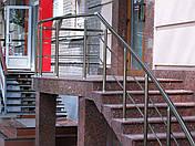 Перила алюминиевые цвет никель, фото 3