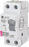 Диф реле (УЗО) EFI6 2р 16 А 30мА тип AC (6kA)