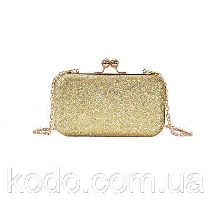 Вечерняя сумка Brady Gold, фото 2