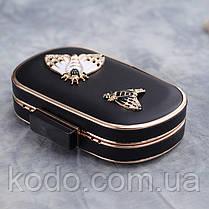 Вечерняя сумка Bluebell Butterfly Black, фото 3