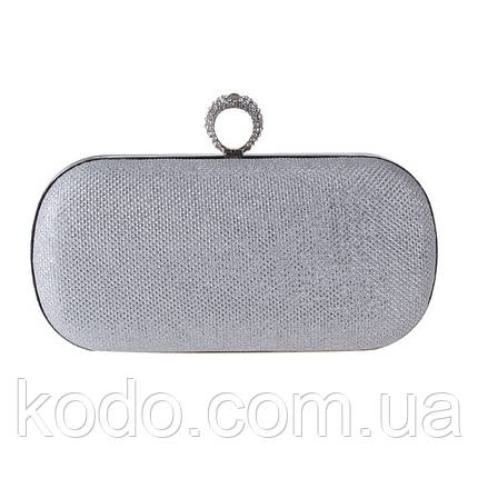 Вечерняя сумка Bluebell Ring Silver, фото 2