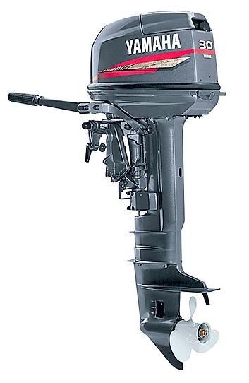 Човнові мотори Yamaha 2x тактний