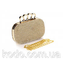 Вечерняя сумка Bluebell Rings Gold, фото 2