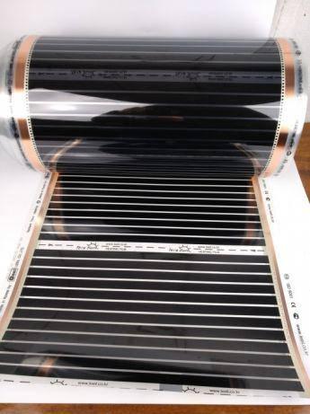 Инфракрасная нагревательная пленка 5 мп теплый пол Корея Leeil, фото 2