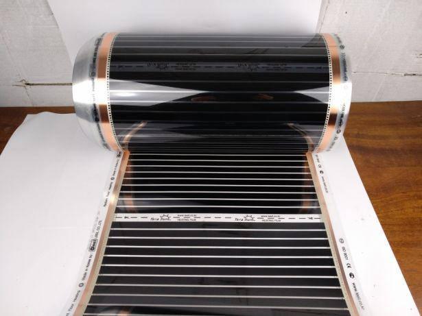 Инфракрасная нагревательная пленка 80*100 см теплый пол Корея Leeil, фото 2