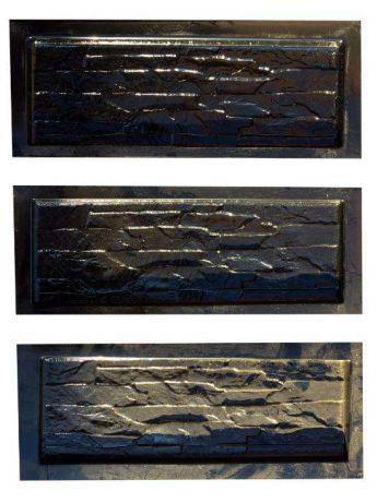Формы глянцевые для фасадной плитки Мурано пластик АБС, фото 2