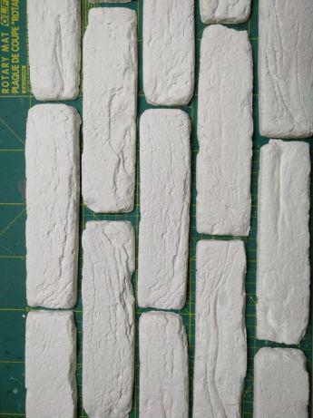 Полиуретановые силиконовые формы для гипсовой плитки Тулуза, фото 2