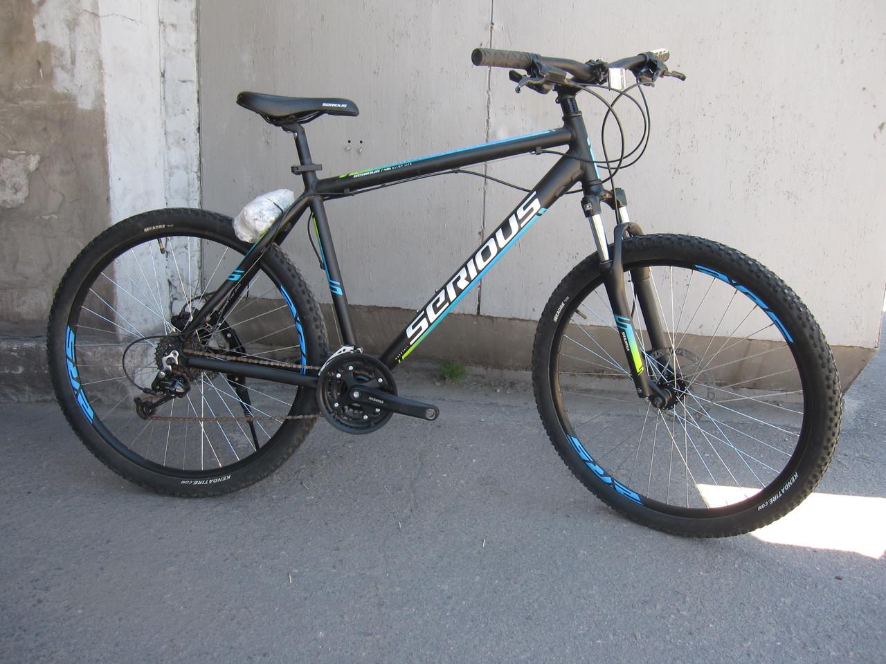 Велосипед Seriosus 27.5 алюминиевый дисковые тормоза