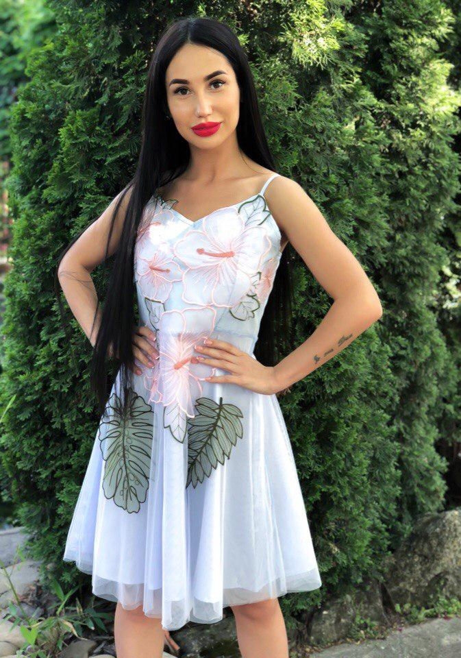 720928bdc49b9f6 Идеальное платье из фатина на лето - Интернет-магазин
