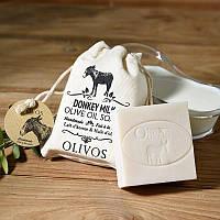 Оливковое натуральное мыло с молоком ослицы Olivos Donkey Milk .150г