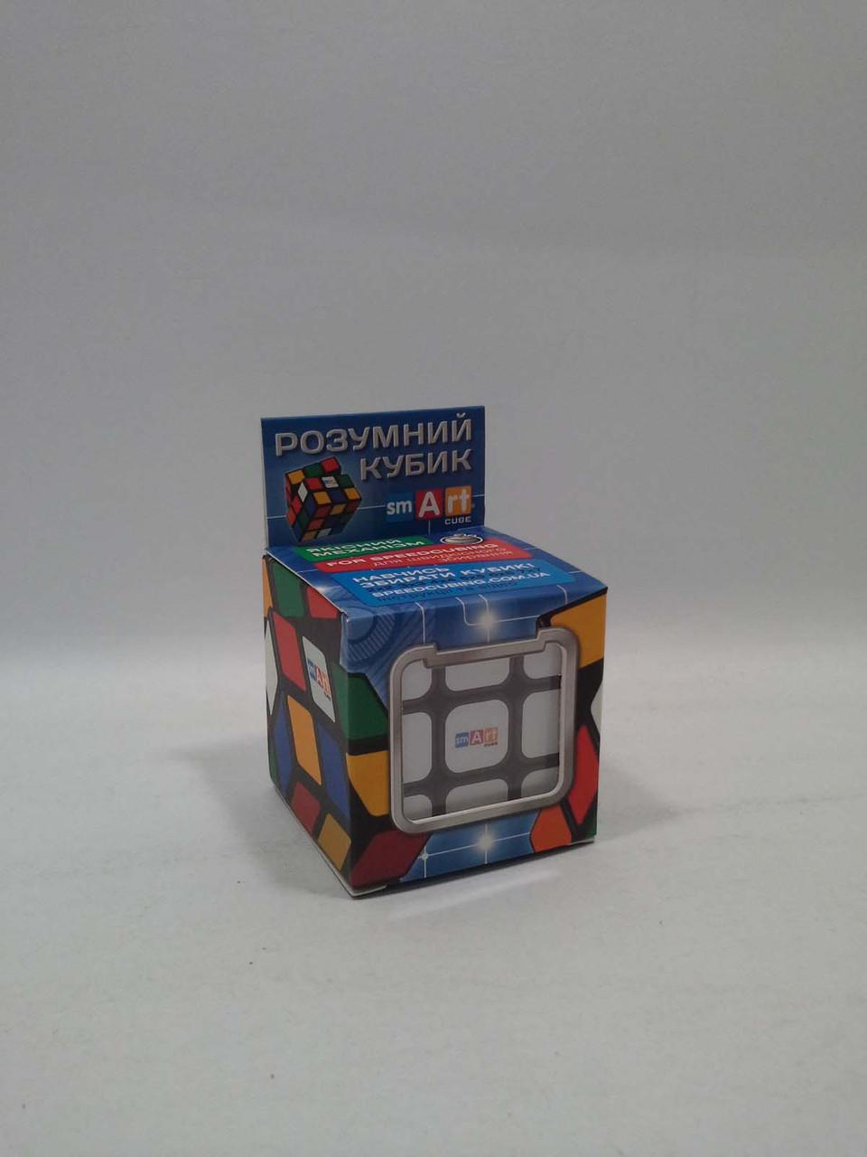 Игра Бюджетный Кубик Рубика 3х3 (черный). Smart Cube