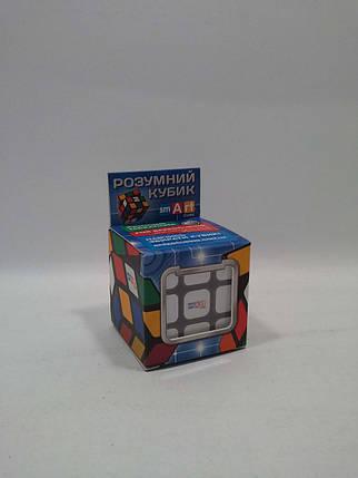 Гра Бюджетний Кубик Рубіка 3х3 (чорний). Smart Cube, фото 2