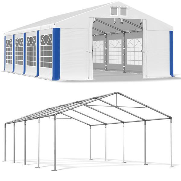 Намет Намет Садова з вікнами SUMMER PVC 530 г/м 4 x 8m